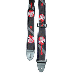 Gibson Woven Logo Strap Red « Schouderband