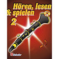 De Haske Hören,Lesen&Spielen Bd. 2 für Boehm Klarinette « Libro di testo
