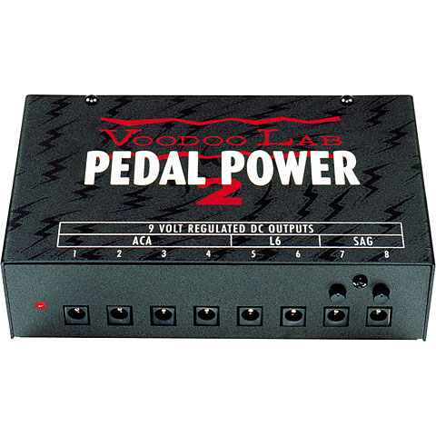 VoodooLab Pedal Power 2 Plus 8x9VDC