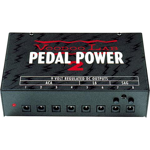 Alimentador guit./bajo VoodooLab Pedal Power 2 Plus 8x9VDC