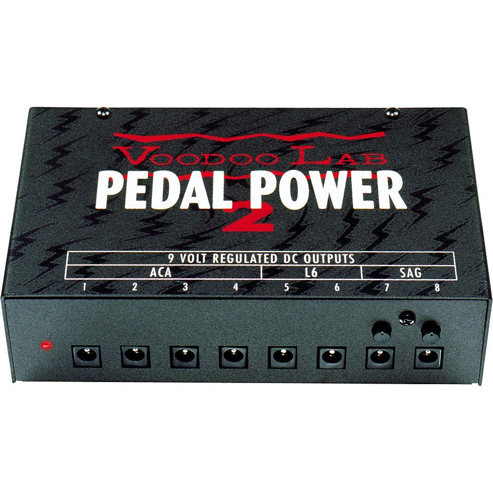 Voodoolab Pedal Power 2 Plus 8x9vdc Guitar Bass Supplies