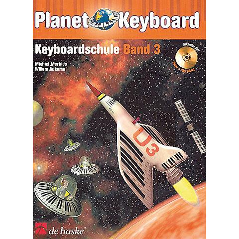 Lehrbuch De Haske Planet Keyboard 3