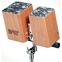 Schlagwerk Wooden Bongos « Bongos