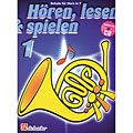Instructional Book De Haske Hören,Lesen&Spielen Bd. 1 für Horn in F