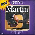 Set di corde per chitarra western e resonator Martin Guitars M 175