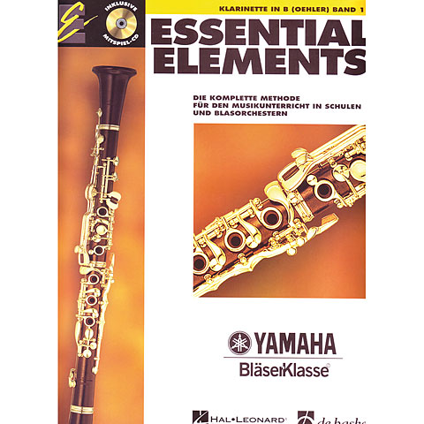 Manuel pédagogique De Haske Essential Elements Band 1 - für Klarinette Oehler