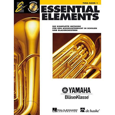 Lehrbuch De Haske Essential Elements Band 1 - für Tuba (BC)