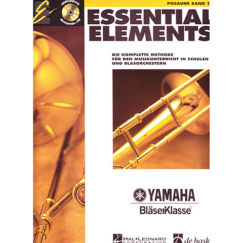 Manuel pédagogique De Haske Essential Elements Band 1 - für Posaune (BC)
