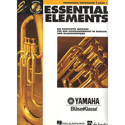 Manuel pédagogique De Haske Essential Elements Band 1 - für Tenorhorn/Euphonium (TC)