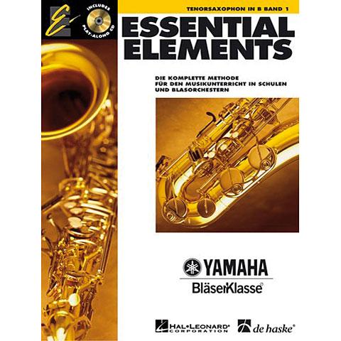Lehrbuch De Haske Essential Elements Band 1 - für Tenorsaxophon