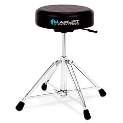 DW 9000 Series Heavy Duty 4-Leg Air Lift Drum Throne Round Top « Siège de batterie