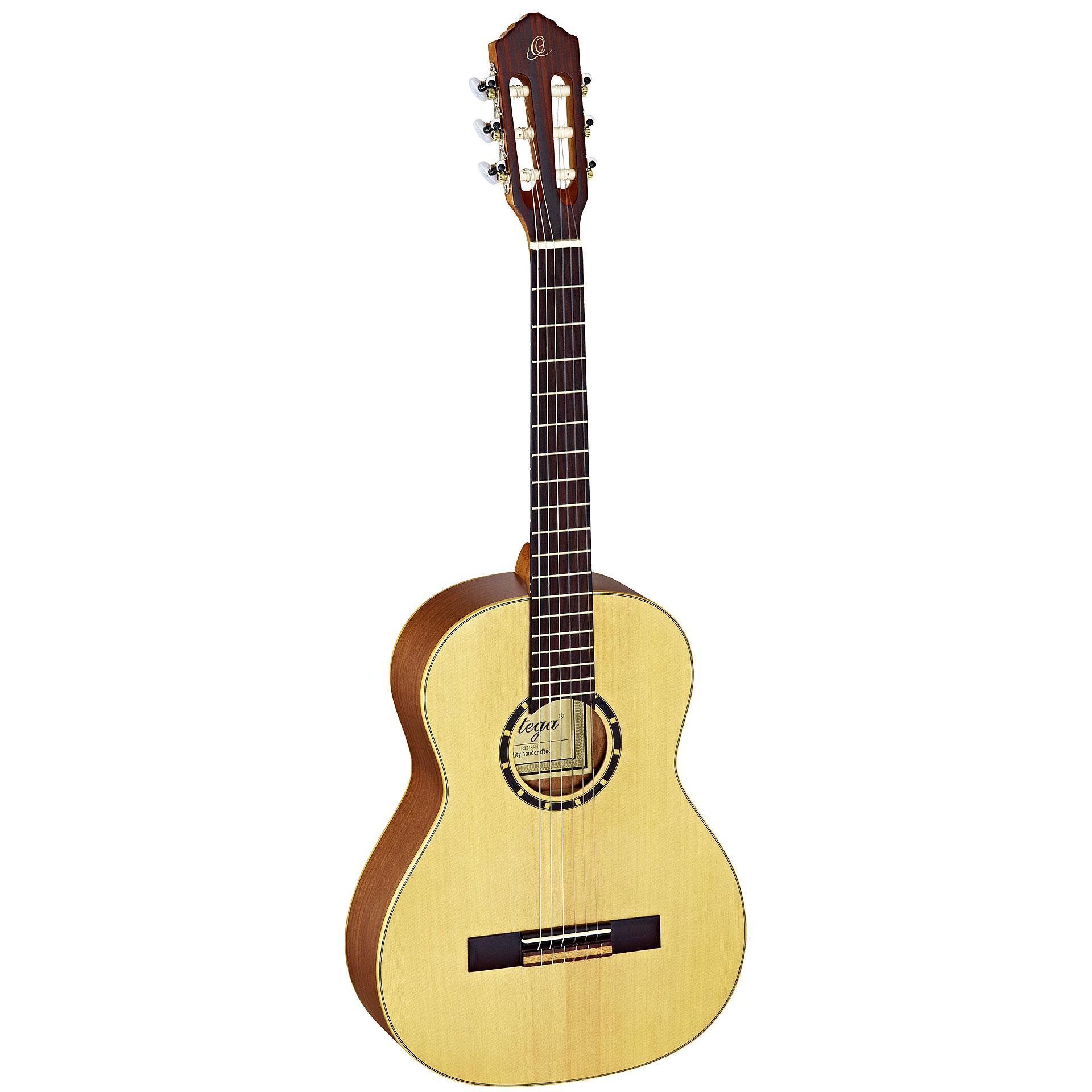 ortega r121 3 4 guitare classique. Black Bedroom Furniture Sets. Home Design Ideas