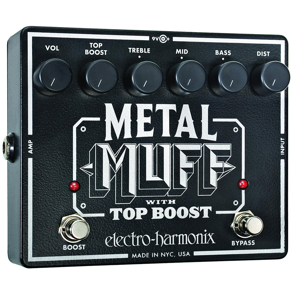 electro harmonix xo metal muff top boost guitar effect. Black Bedroom Furniture Sets. Home Design Ideas