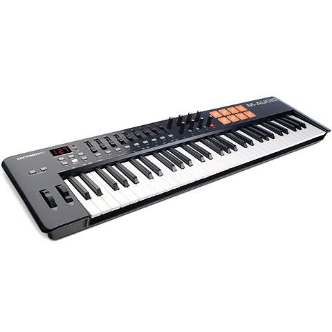 Master Keyboard M-Audio Oxygen 61 MK4