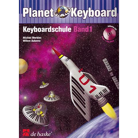 Libros didácticos De Haske Planet Keyboard Bd.1