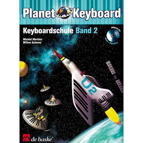 Manuel pédagogique De Haske Planet Keyboard Bd.2