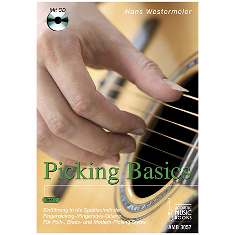 Lehrbuch Acoustic Music Books Picking Basics Bd.2
