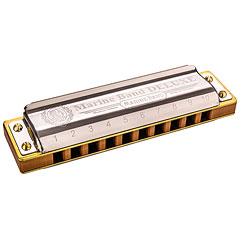 Hohner Marine Band Deluxe F « Armónica mod. Richter