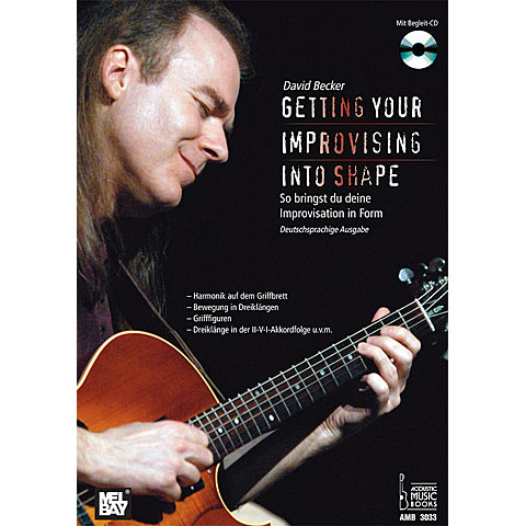 Lehrbuch Acoustic Music Books Getting your Improvising into Shape