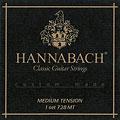 Χορδές κλασικής κιθάρας Hannabach 728 MT Custom Made