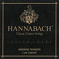 Струны для концертной гитары  Hannabach 728 MT Custom Made