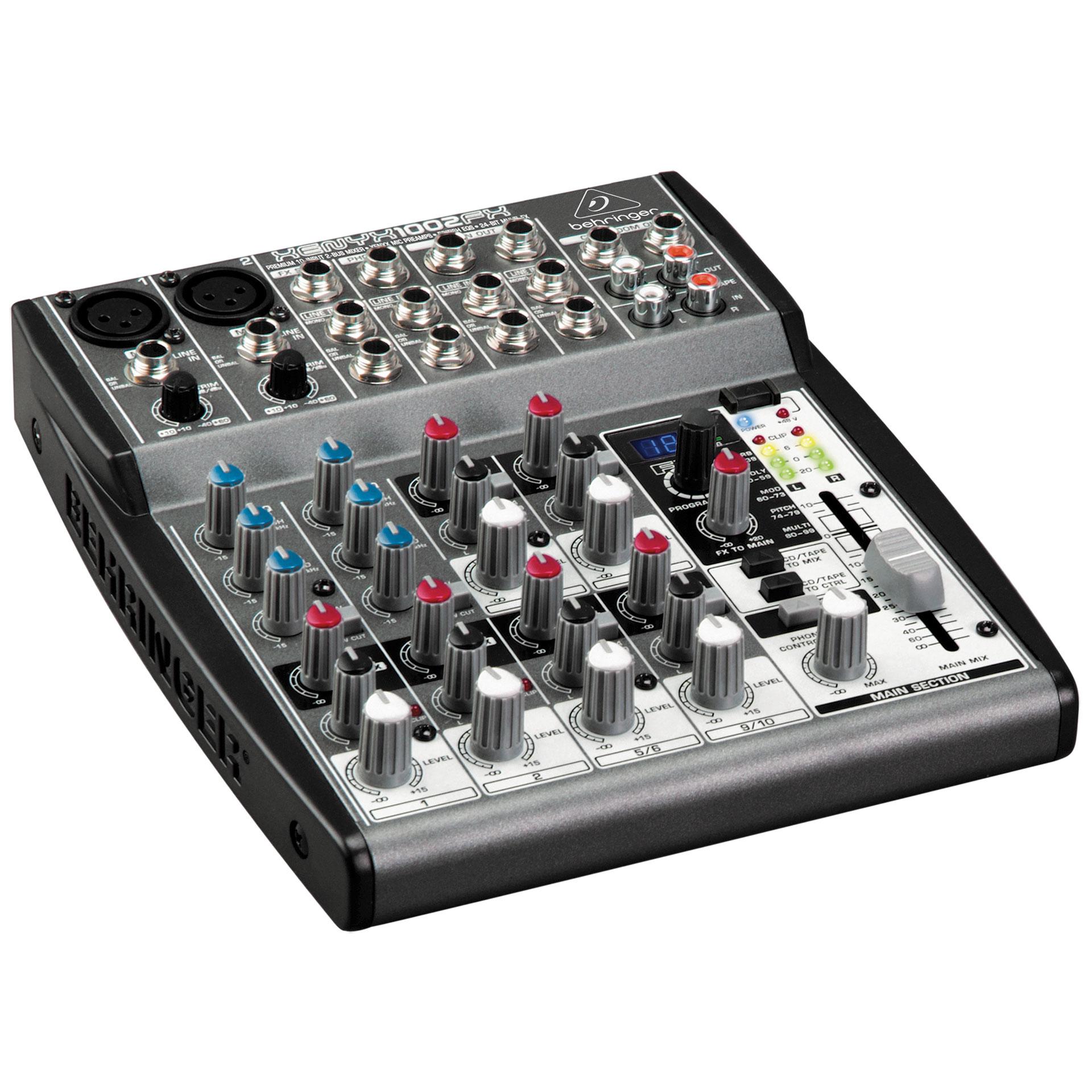 Behringer xenyx 1002fx mesa de mezclas for Media markt mesa de mezclas