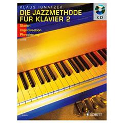 Schott Die Jazzmethode für Klavier - Solo « Lehrbuch