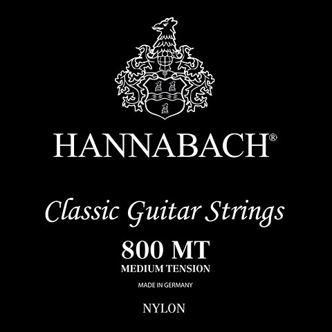 Hannabach 800 MT Black
