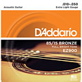 Cuerdas guitarra acúst. D'Addario EZ900 .010-050