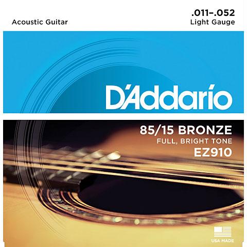 Saiten Westerngitarre D'Addario EZ910 .011-052