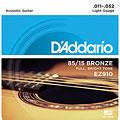 Струны для акустической гитары  D'Addario EZ910 .011-052