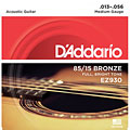 Cuerdas guitarra acúst. D'Addario EZ930 .013-056