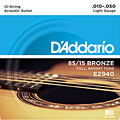 Cuerdas guitarra acúst. D'Addario EZ940 .010-050