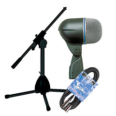 Shure Beta 52A Stativ/Kabel-Set « Mic Bundle