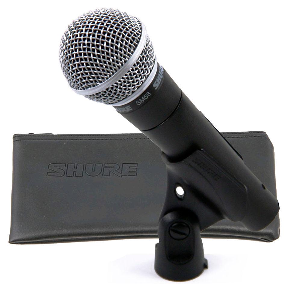 shure sm58 set microphone musik produktiv. Black Bedroom Furniture Sets. Home Design Ideas