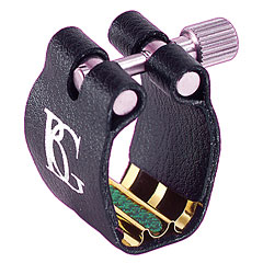 BG Super Revelation Ligature L7SR 24k gold plated metal plate « Ajuste cañas