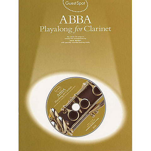 Music Sales ABBA - Playalong for Clarinet