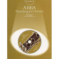 Music Sales ABBA - Playalong for Clarinet « Play-Along