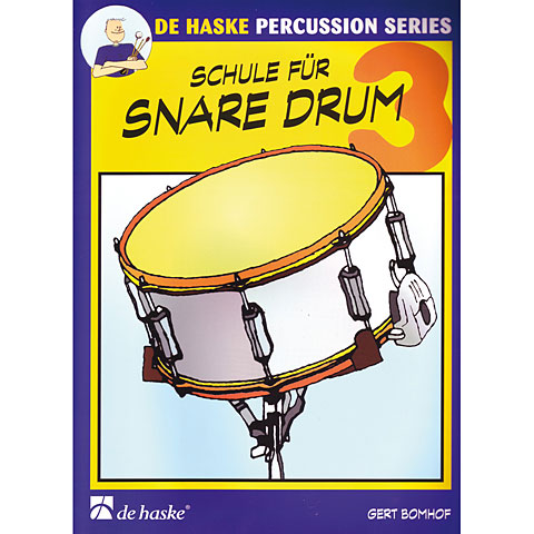 Lehrbuch De Haske Schule für Snare Drum 3