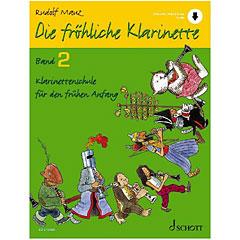 Schott Die fröhliche Klarinette Bd.2 inkl. CD « Instructional Book