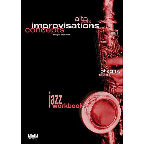 Libros didácticos AMA Alto Sax Improvisation Concept