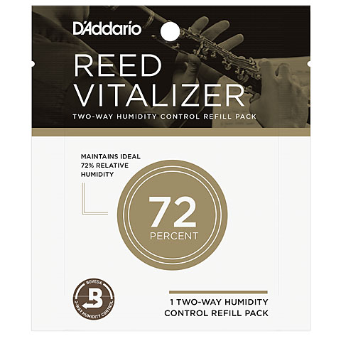 Blattetui D'Addario Reed Vitalizer 72 Refill Pack