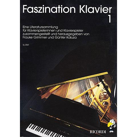 Libro de partituras Ricordi Faszination Klavier Bd.1