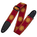 Guitar Strap Levy's MPJG-SUN-RED