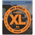 Set di corde per chitarra elettrica D'Addario EPS510 Pro Steels .010-046