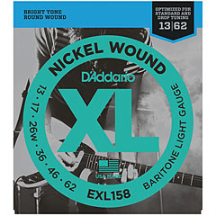 D'Addario EXL158 Nickel Wound .013-062 « Corde guitare électrique