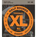 Electrische Gitaar Snaren D'Addario EHR310 Half Rounds .010-046