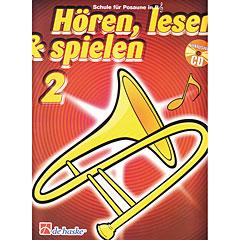 De Haske Hören,Lesen&Spielen Bd. 2 für Posaune in B « Lehrbuch