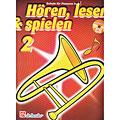 Lehrbuch De Haske Hören,Lesen&Spielen Bd. 2 für Posaune in B