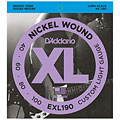 Set di corde per basso elettrico D'Addario EXL190 Nickel Wound .040-100